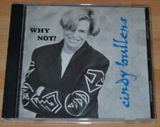 Cindy Bullens - Why Not? - 1994 US Blue Lobster Records Label CD