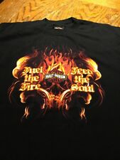 Harley-Davidson Men's T-Shirt Fuel The Fire Feed The Soul black Large Euc