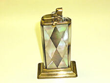 FORK (KREMER & BAYER) TABLE LIGHTER W. MOTHER OF PEARL COAT - 1930 - GERMANY