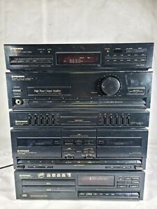 Pioneer Hifi Sound System XD-Z53T Stereo Twin CD Twin Tape Cassette Amplifier