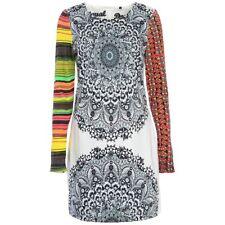 Fabulous Desigual Long Sleeve Dress, Great Pattern Mix, 40(UK10/12), NWT