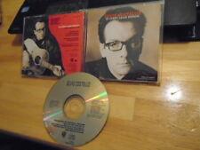 RARE PROMO Elvis Costello CD single 13 Steps Lead Down + NON-LP Brutal Youth '94