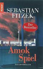 Amokspiel von Fitzek, Sebastian | Buch | Zustand gut