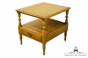 """DREXEL HERITAGE Litchfield Collection Solid Maple Colonial Style 22x 25"""" Acce..."""