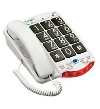 Clarity Amplified Big Button Corded Telephone Talk Back Numbers Clarity-JV35