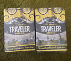 2 Of The Traveler Beer Co Coasters 125 Each Full Sleeve pack 5x3.5 Postcard NEW