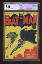 Batman #1 1940 CGC 7.0 RESTORED 1218922001