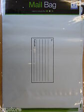 "6 Large Peel & Seal Mail Bags Write-On Surface 240 x 320mm (9.39 x 12.5"")"