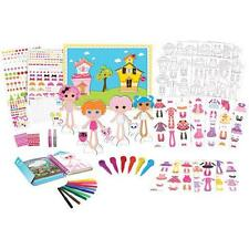 NEW Lalaloopsy Paper Doll Mega Fashion Set
