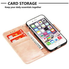 Leather Case Utral Slim Wallet ID Card Holder Skin For iPhone8 Plus Rose Gold