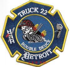 "21 // Ladder 28  /""You Rang?/"" Michigan Detroit  Engine 4/"" x 4/"" fire patch"