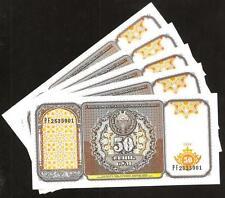 UZBEKISTAN Lot of 5 Notes 50 Sum 1994 UNC P 78