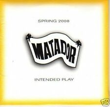 (J782) Matador, Intended Play Spring 2008 - DJ CD