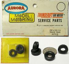 4 Aurora Model Motoring Slot Car T-Jet TRUCK TIRES 8372
