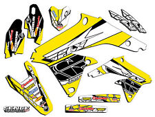 1999 2000 SUZUKI RM250 RM 250 GRAPHICS KIT 99 00 DECALS DECO STICKERS MOTO FLY