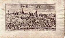 Kloster Kastl bei Amberg Oberpfalz Orig Kupferstich Ertl 1690
