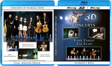 Fairy Forest & The Feast 3D Concert Collection Blu-Ray 3D NICE! 3-D Bluray Movie