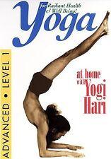 Yoga at Home with Yogi Hari - Advanced Level: Vol. 1 (DVD, 2003)