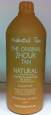 NAKED TAN -  NATURAL - 8% DHA Spray Tan Solution - 2hr wash'n'wear