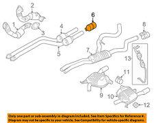 BMW OEM 07-13 335i 3.0L-L6 Exhaust-Rear Muffler Clamp 18307560779