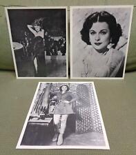 "Vintage Rita Hayworth + Two More 8"" x 10"" Movie Stills Lot!"