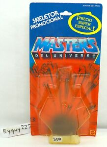 MOTU, Skeletor Spanish Promocional Card Back, Masters of the Universe, cardback