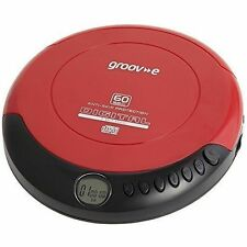 groov-e GVPS110/R Retro Personal CD Player