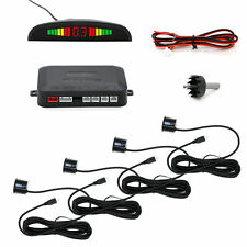 4 Sensors LED Display Car Reverse Parking Assistance Radar Buzzer Alarm Kit