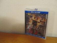 Resident Evil: Afterlife 3D (Blu-ray Disc, 2010, 3D)