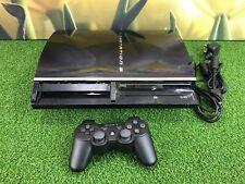 Sony Playstation 3 PS3 GRASSO 60GB Nero Console CECHC 03 (parzialmente PS2 compatibile)