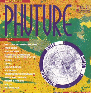 Jackmaster Phuture Trax CD (1989) Tyree Fast Eddie Joe Smooth Marshall Jefferson