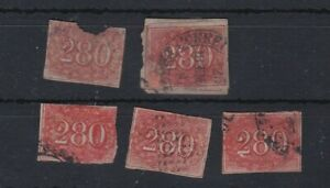 BRAZIL (B19) SG 21 x 5 - 1850 280r - Various condition - need checking - seconds
