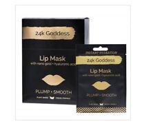 24K GODDESS Active Gold Lip Mask 10 Pack - Single Use ( Plump Smooth )