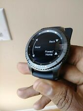 SAMSUNG GALAXY GEAR S3 FRONTIER 46mm BLACK Stainless R760 BRAND NEW
