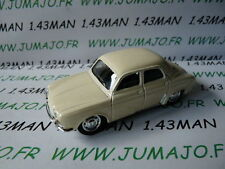 Voiture 1/43 solido renault : dauphine blanche