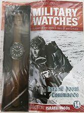 EAGLEMOSS MILITARY WATCHES. ISRAELI COMMANDO 1960's ISSUE 14. UNOPENED / MINT