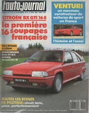 L'AUTO JOURNAL 1987 8 MVS VENTURI BX GTI 16S OPEL KADETT GSi CABRIOLET GP BRESIL