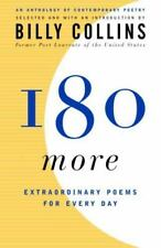 "Billy Collins ""180 MORE EXTRAORDINARY POEMS FOR EVERY DAY"" (2005, Trade-size PB)"