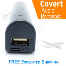 """Voice Activated Listening Device Audio Bug 8GB """"Bugging"""" Spy Recorder Long BTRY"""