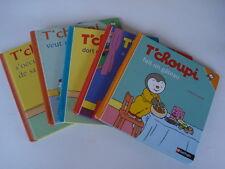 """LOT de 3 livres """"T'CHOUPI """" NATHAN"""