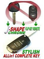 J-STYLE FLIP remote for Toyota HYQ12BBX Dot CLICKER KEYLESS ENTRY RFID ALARM FOB