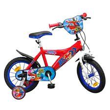 14 Zoll Kinderfahrrad Kinder Fahrrad Super Wings Jungen  4 5 6 7 jahr Neu Disney