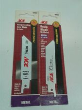 ACE 4 in. 18TPI Bi-Metal Reciprocating Saw Blade 4 PCS (ACE066)