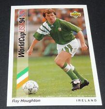 HOUGHTON ASTON VILLA IRELAND EIRE FOOTBALL CARD UPPER DECK USA 94 PANINI 1994
