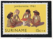 Suriname 1961 Early Issue Fine Mint Hinged 15c. 169002