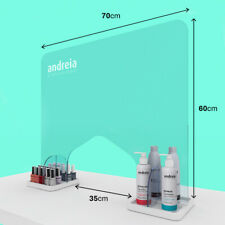 Andreia -  PPE Salon and Nail Technician - Clear Screen Guard and Face Shield