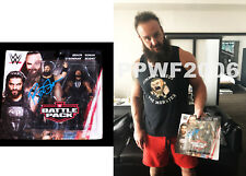 Wwe Braun Strowman 2 Pack Hand Signed Action Figure With Picture Proof & Coa