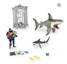Animal Planet Extreme Shark Adventure Playset New Free Fast Ship
