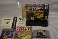 San Francisco Rush Extreme Racing - Nintendo 64 (N64) Game, Manual & box
