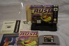 San Francisco Rush Extreme Racing - Nintendo 64 (N64) Game, Manual & box